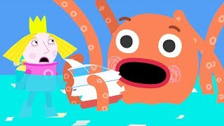 Ben and Holly's Little Kingdom | Octopus Attack | 1Hour | HD Cartoons for Kids HD