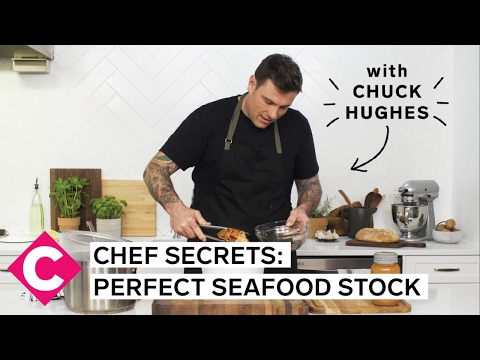 Chuck Hughes' Chef Secrets | Perfect Seafood Stock