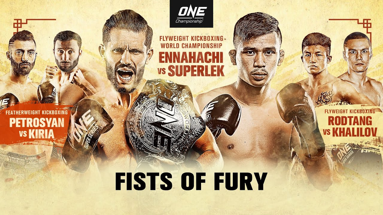 🔴 [Live in HD] ONE Championship: FISTS OF FURY - скачать с YouTube бесплатно