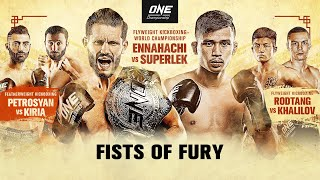 🔴 [Live in HD] ONE Championship: FISTS OF FURY