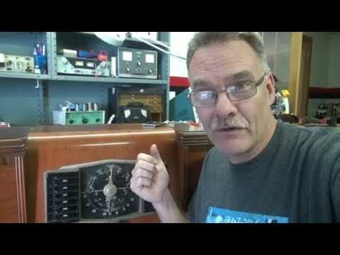 Easy How to add MP3 ipod Input to Vintage Tube Radio receiver by D-lab