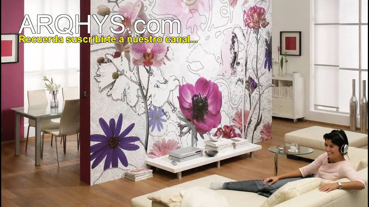 5 formas distintas para decorar una pared como decorar for Decorar paredes living