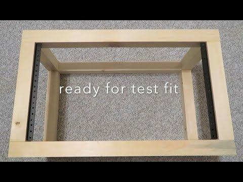 DIY 6U Wooden Network Cabinet Build - Part 1