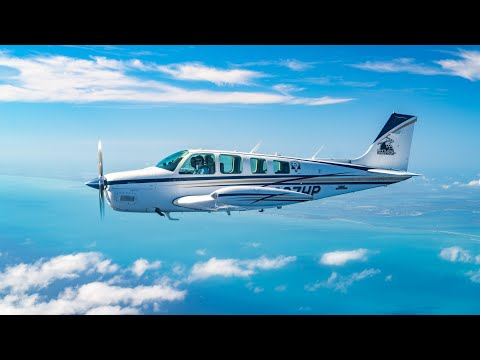 Flying the Bonanza to the Cayman Islands