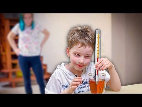 Богдан научился измерять температуру?