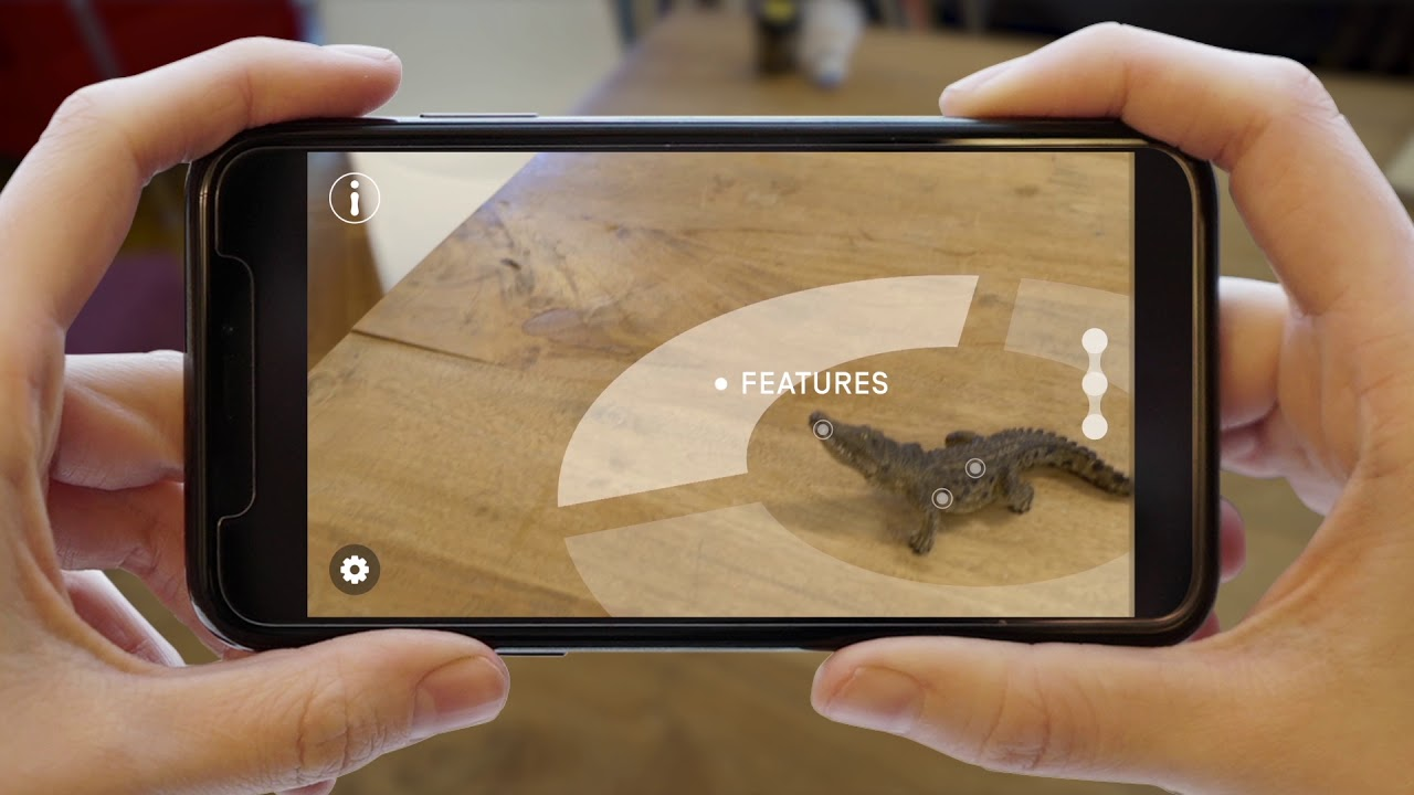 Augmented Reality: Interaction with Object