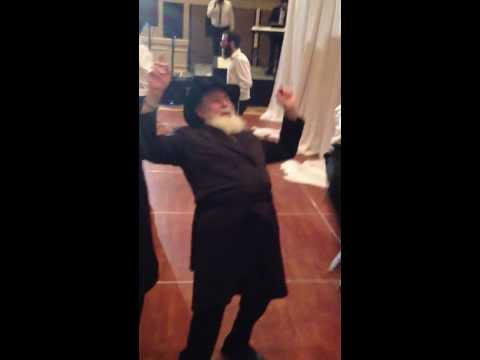 Rabbi Breakdancing at Wedding