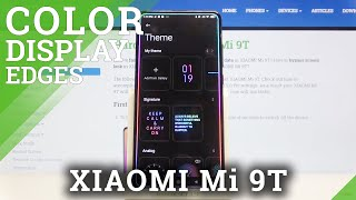 Как изменить тему Always On Display на XIAOMI Mi 9T - настроить функцию Always On Display