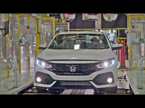 CAR FACTORY: 2017 Honda CIVIC Hatchback