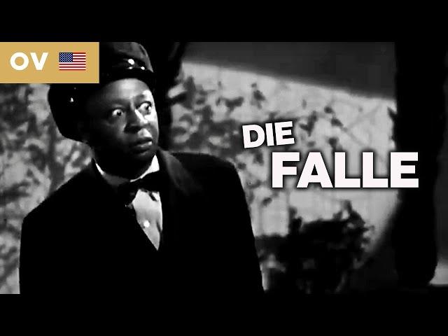 Die Falle (Mysteryfilm in voller Länge, Klassiker Filme mit Untertiteln auf Deutsch, Drama, OV)