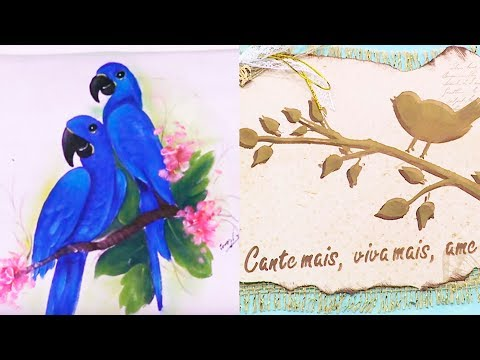 ARARINHA AZUL  e DICA DA TATI thumbnail