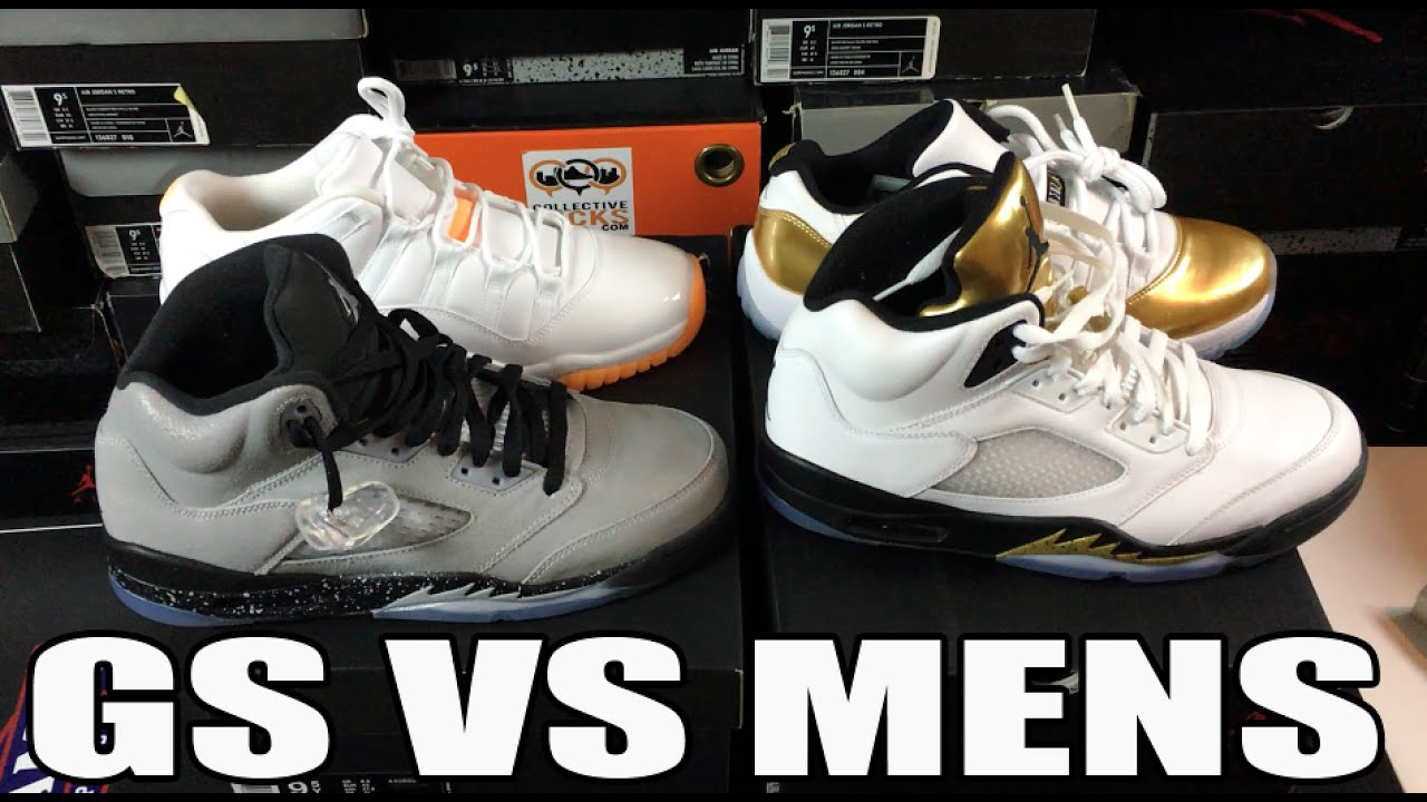 Jordan Retro Sizes Men's vs Youth Comparison Review (Kids 9Y vs Mens 9)