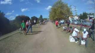 Desafío al Valle del Río Pinto 2012 - Resumen en carrera 3 de 3 (MTB Race with helmet cam)