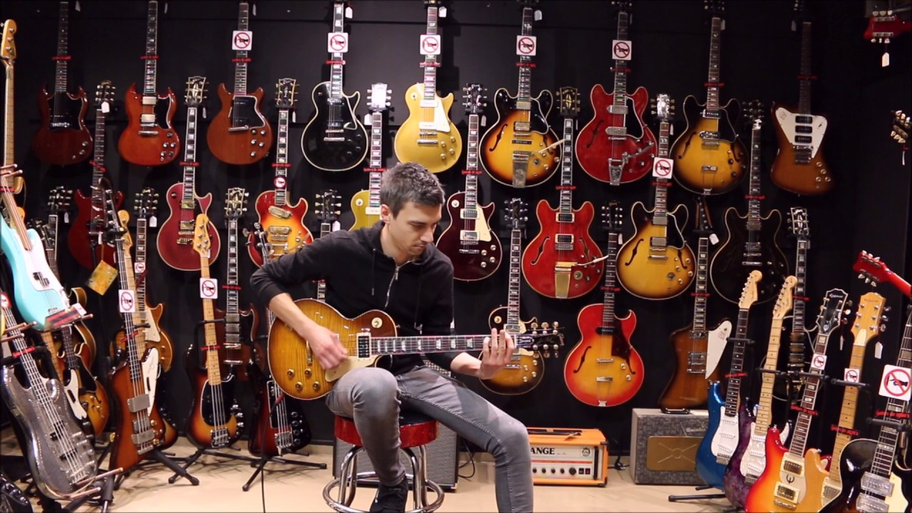 guitare collection presents gibson les paul jimmy page signature from 1995 by nico poges