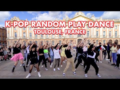 KPOP RANDOM PLAY DANCE IN PUBLIC - FRANCE [CutieScythe]