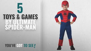 Top 10 Ultimate Spider-Man Toys & Games [2018]: Rubie