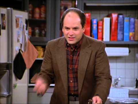 "Seinfeld, George Castanza ""careful with money""."