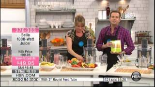 Kelly Diedring Harris presents Bella Juicer on Home Shopping Network; 2.3.14