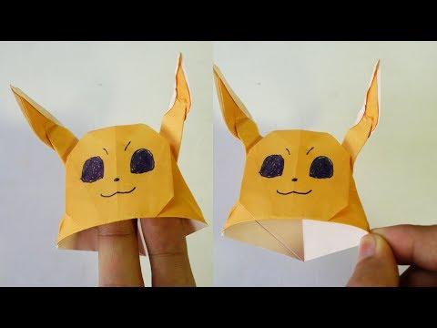 Paper Hat - Origami Eevee Hat Tutorial (Henry Pham)