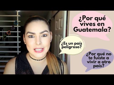 Porque vivo en Guatemala y no en otro País.