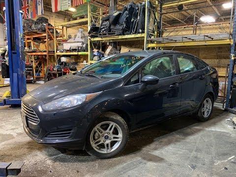 Авто из США. 2018 Ford Fiesta 2700$.