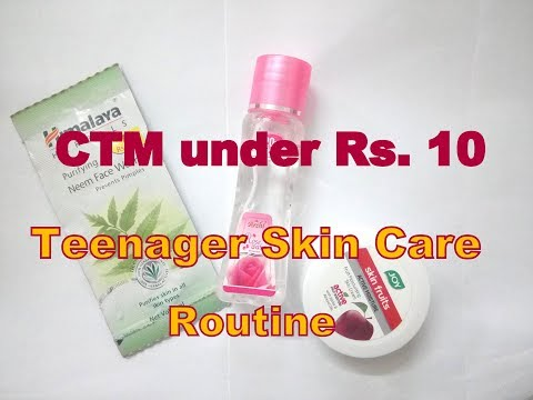 (हिंदी) CTM Routine under Rs. 10 || Affordable Skin Care for Teenagers || in Hindi