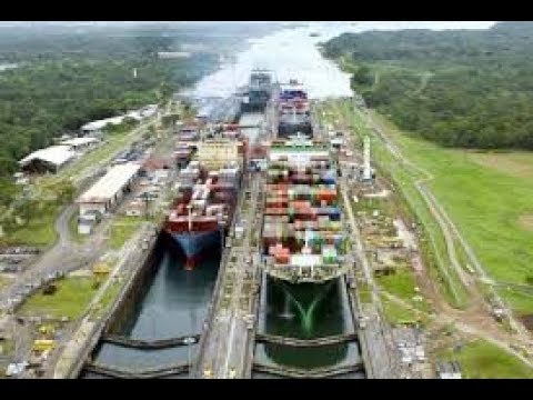 Crossing the Panama Canal in ultra 4K