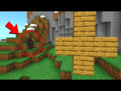 If you find these crosses on your Minecraft world.. delete it!