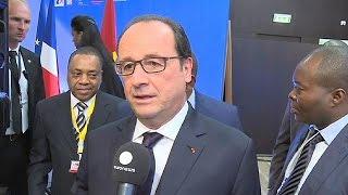"""Realpolitiker"" Hollande bedankt sich bei Angola - economy"