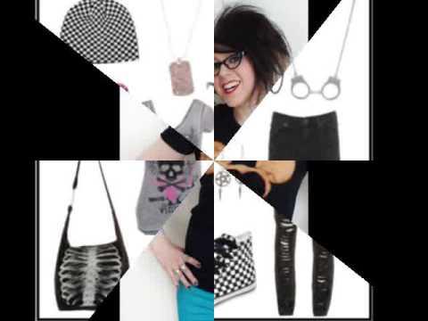 DIY Emo Clothes Ideas - YouTube