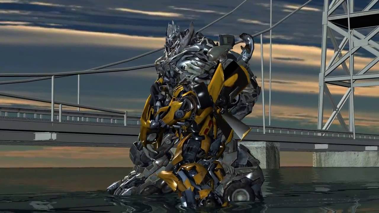 Transformers 5: Bumblebee vs Megatron fight - Mortal ...