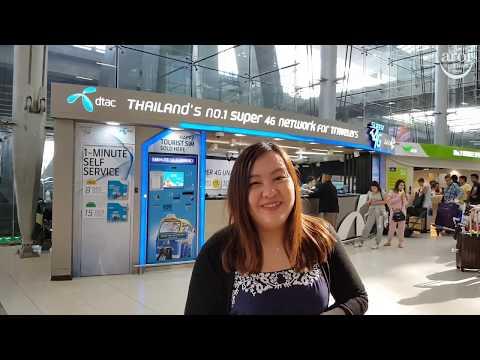 Where To Buy Tourist 4G Prepaid SIM Card in Bangkok