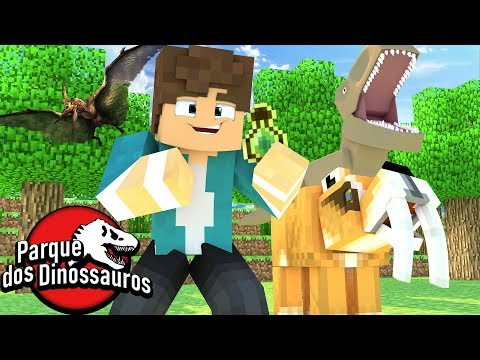 Minecraft: NOVO DNA DE DINOSSAURO !!! - PARQUE DOS DINOSSAUROS !!! #02 ‹ Goten › thumbnail