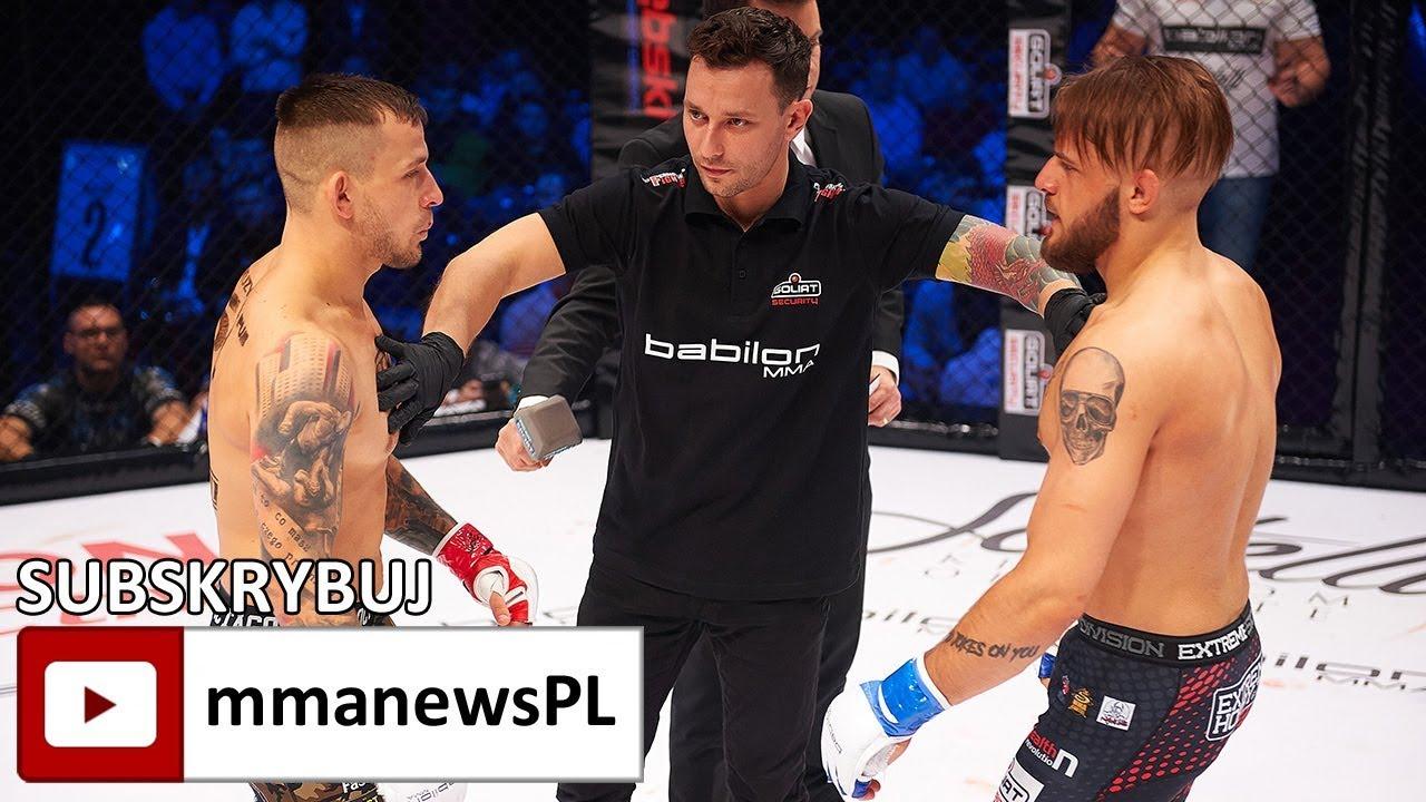Babilon MMA2: Damian Zorczykowski konsekwentnie przełamywał Michała Folca