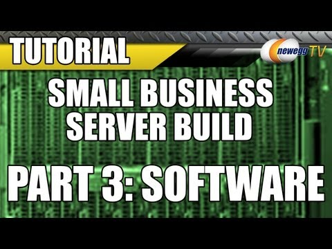 Newegg TV: Small Business Server Build with Intel & Microsof
