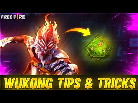 FireeFire WU-KONG TIPS AND TRICKS