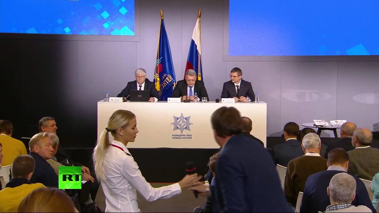 Пресс-конференция концерна «Алмаз-Антей» по причинам трагедии MH 17