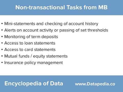 Mobile Banking in India - Datapedia