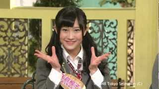 2012.12.27 ON AIR 【出演】 NMB48 (沖田彩華/矢倉楓子) ほか Perfor...