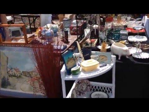 Vintage Flea Market at the Carousel Emporium Antiques in Orlando