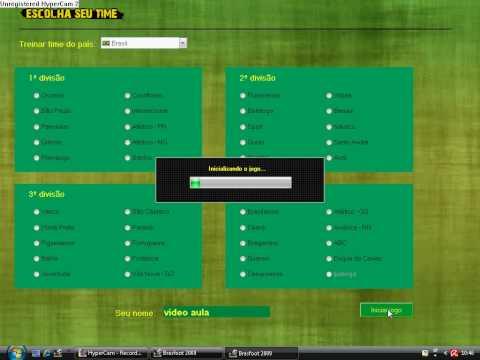 registro do brasfoot 2009 gratis