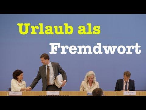 17. Juli 2017 - Komplette Bundespressekonferenz