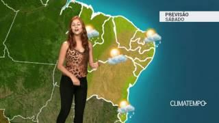 Previsão Nordeste - MA e PI com risco de chuva forte