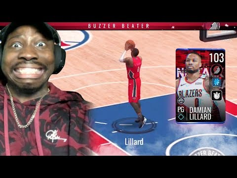 Full Court BUZZER-BEATER By 102 OVR Damian Lillard! NBA Live Mobile 19 Season 3 Ep. 84