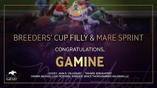 Vidéo de la course PMU BREEDERS' CUP FILLY AND MARE SPRINT