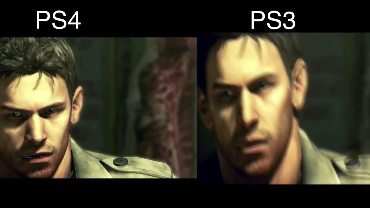 Resident Evil 5 Remastered Ps4 Vs Resident Evil 5 Ps3 Graphics