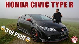 Honda Civic Type R im Test (deutsch) │310 PS/hp │270 km/h