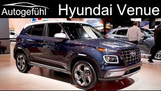 Hyundai Venue REVIEW Exterior Interior Premiere - Autogefühl