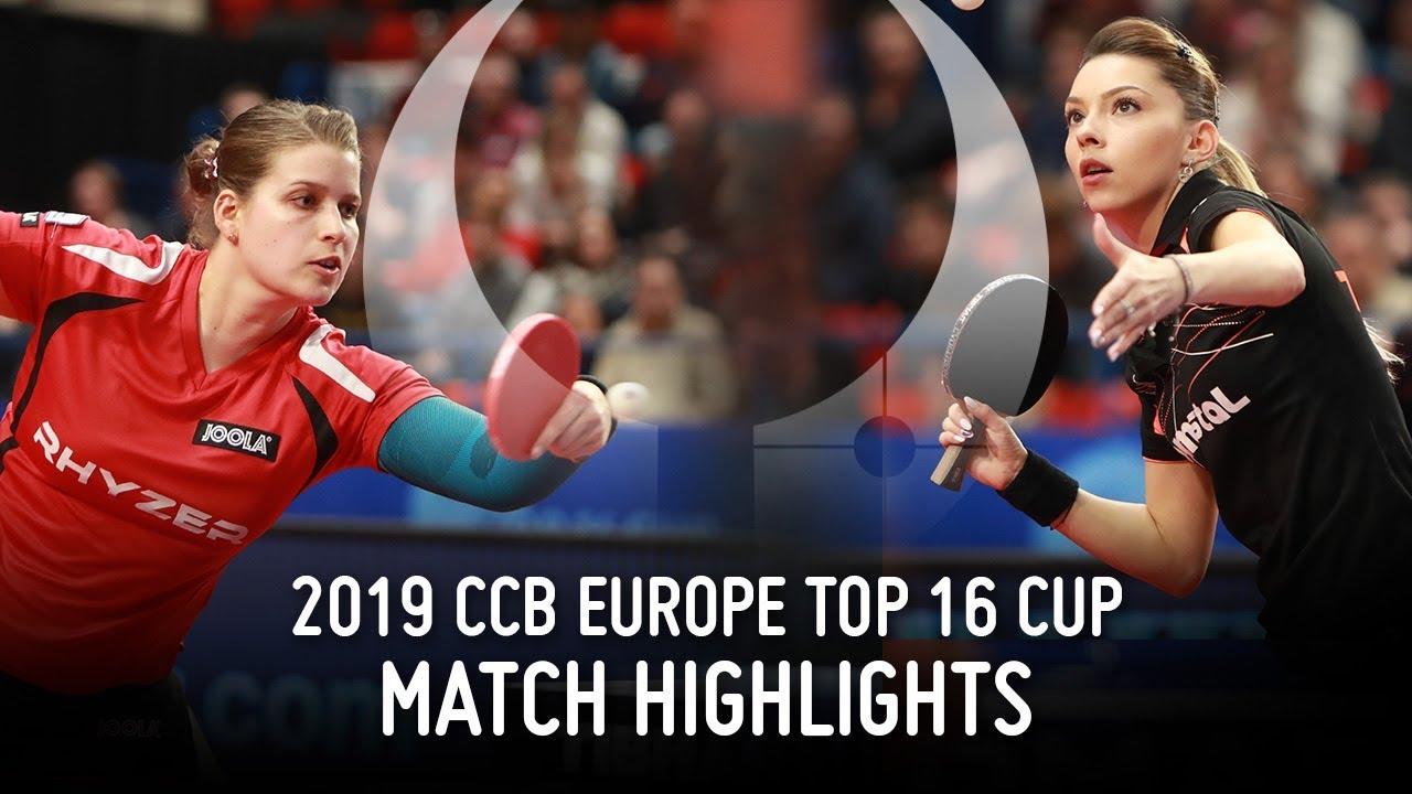 Download Petrissa Solja vs Bernadette Szocs | 2019 Europe Top 16 Cup Highlights (Final)
