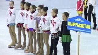 Чемпионат Казахстана по фигурному катанию в Шымкенте